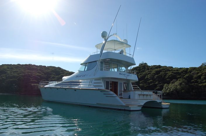 Bucket List Charters - Bay of Islands - Yacht Charter