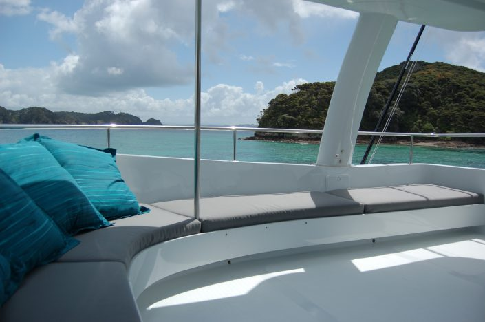 Bucket List Charters - Bay of Islands - Deck View