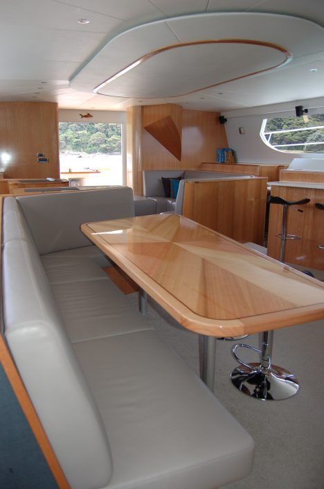 Bucket List Charters - Bay of Islands - interior view